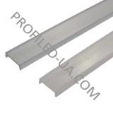 Розсіювач для LED профілю плоский прозорий